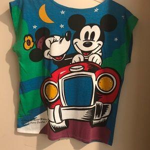 Vintage Disney Mickey and Minnie Top